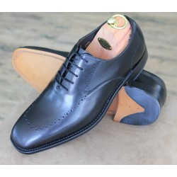 Loake John black 5 eye...