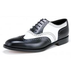 Loake Sloane black & white...