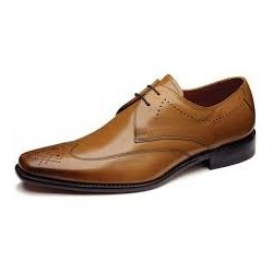 Loake Stitch tan 2 eye...