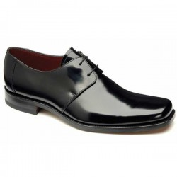 Loake Titan black 2 eye derby