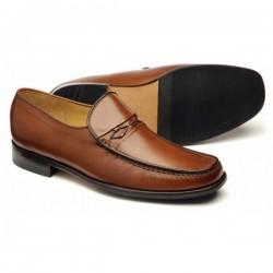 Loake Turin brown moccasin