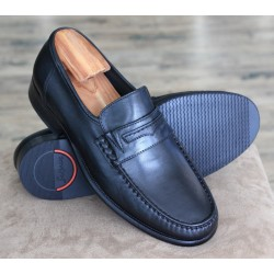Sioux Ched black moccasin
