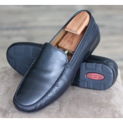 Sioux Gianni black moccasin