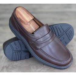 Sioux Peru mocca apron loafer