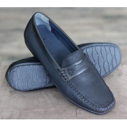 Sioux Camara black moccasin