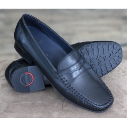 Sioux Carana black moccasin