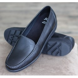 Sioux Conny black moccasin