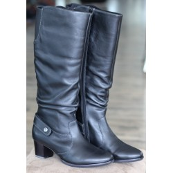 Sioux Sorina black boot