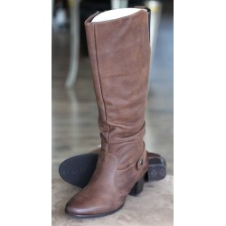 Sioux Sorina brown nubuck boot