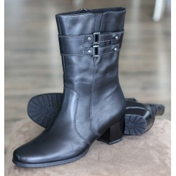 Sioux Lina black boot