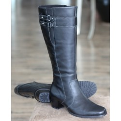 Sioux Liona black boot