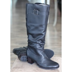 Sioux Surinka black zip boot