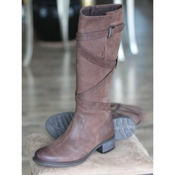 Sioux Hira-WF brown nubuck...