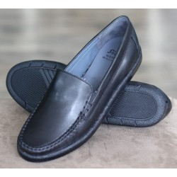 Sioux Emiliana black moccasin