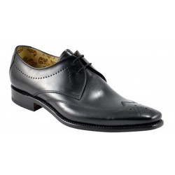 Loake Stitch black 2 eye...