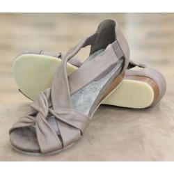 Sioux Anura taupe sandal