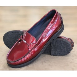 Sioux Loisa red moccasin
