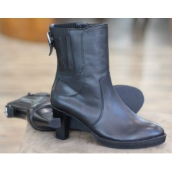 Sioux Tamita black mid boot