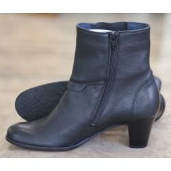 Sioux Olena black calf boot