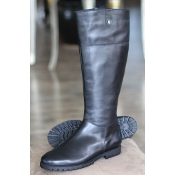 Sioux Dieta black zip boot
