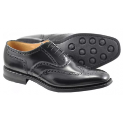 Loake 262B black 5 eye...