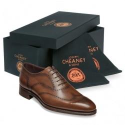 Cheaney Kensington mahogany...