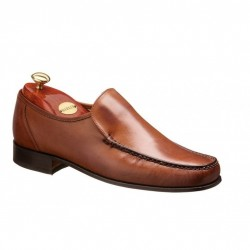 Barker Javron brown moccasin
