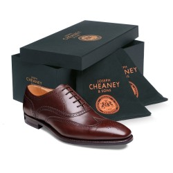 Cheaney Edinburgh mahogany...