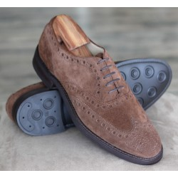 Barker B1599-31 brown suede...
