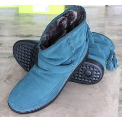 Hotter Pixie teal suede...
