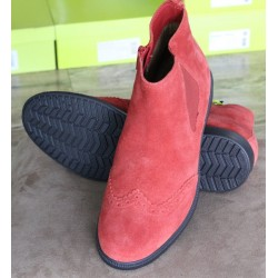 Hotter County spice suede boot