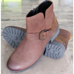 Hotter Lotty tan nubuck boots