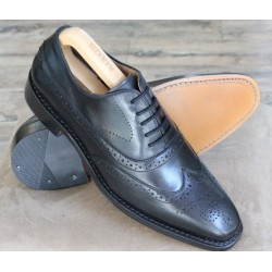 Bertini Uomo 1195 black brogue