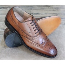 Bertini Uomo 1195 brown brogue