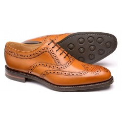 Loake Bovey tan 5 eye...
