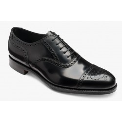 Loake Overton black 5 eye...