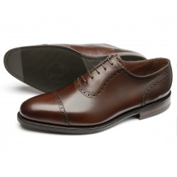 Loake Fleet dark brown...