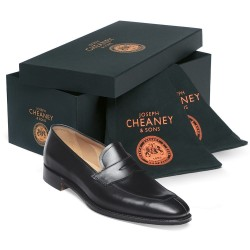 Cheaney Cavendish black loafer