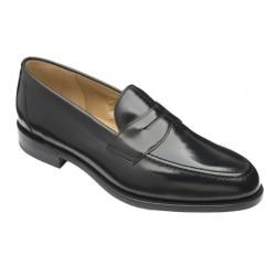Loake Imperial black loafer
