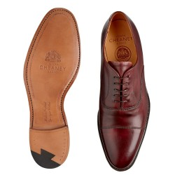Cheaney Lime burgundy 5 eye...