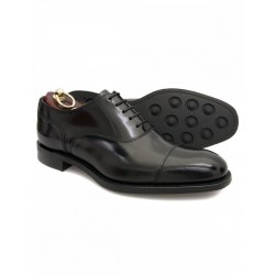 Loake 806 black 5 eye...