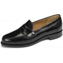 Loake Eton black loafer