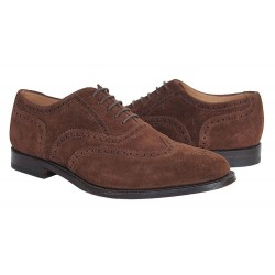 Loake 202DS dark brown...