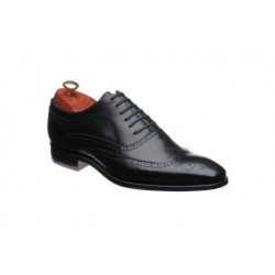 Barker Vivaldi black brogue