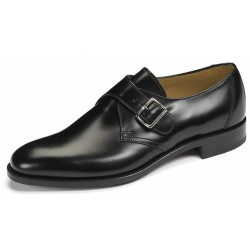 Loake 204B black single monk