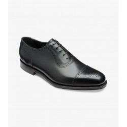 Loake Strand black 5 eye...