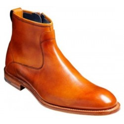 Barker Dillon cedar zip boot