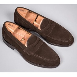 Loake Whitehall brown suede...