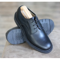 Loake 501B black 3 eye derby