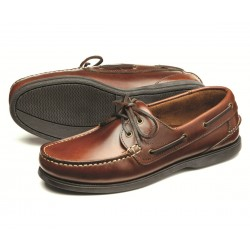 Loake 524 brown waxy 3 eye...